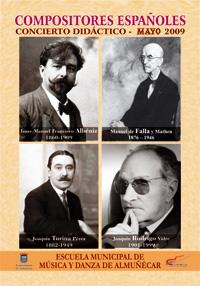 Compositores españoles